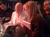 Sex and the City star Evan Handler signing a book for Chelsea.