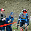 Cyclocross: Heckling, Beer, and a Marian rider in the lead.