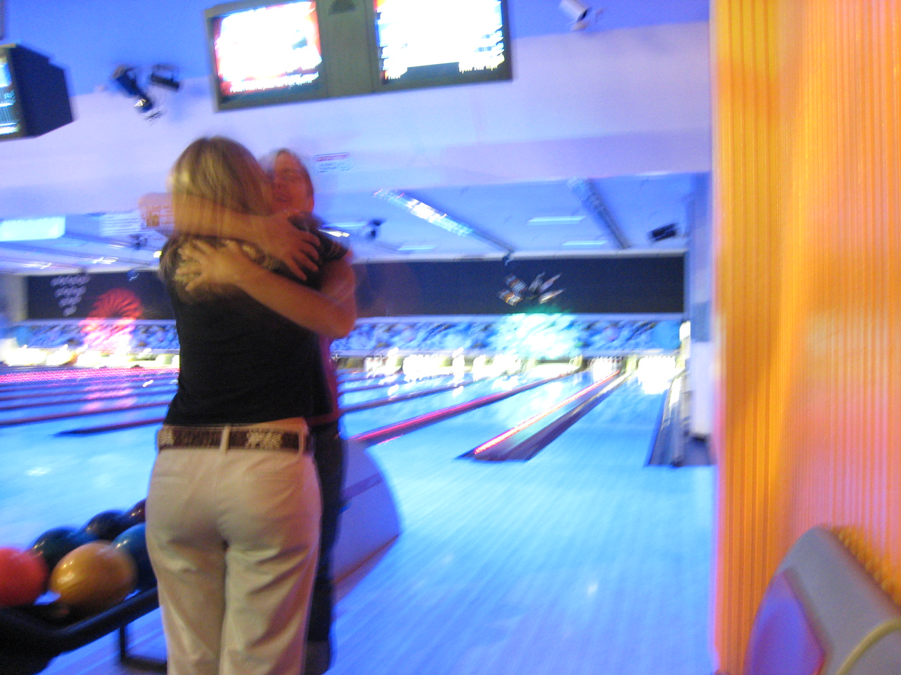 Rode down to Oakland after going through Moraga.  Then met up with Kimbo, Kate, Elena, Adam, and Jess for some Bowling.
