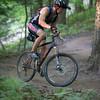 Tobin Decou - negotiating a tricky climb
