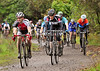 The Senior race at the Cyclocross meeting at Mugdock Country Park on 23 October 2011.