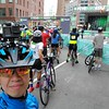 At the starting line in Lower Manhattan