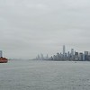The ferry to Lower Manhattan
