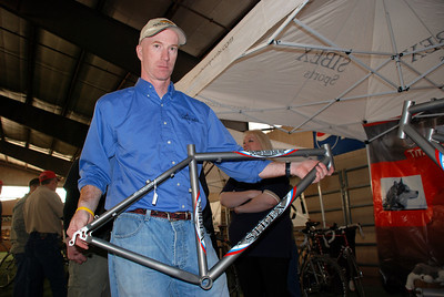Scott of Sibex Sports Showing One of His Frames