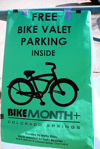 Free Valet Bike Parking at the Bike Show