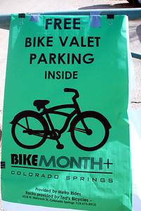 Free Valet Bike Parking at the Bike Show