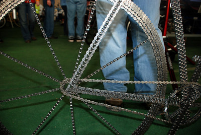 Matthew Hoke's Chain Art Bike