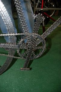 Matthew Hoke's Chain Art Bike
