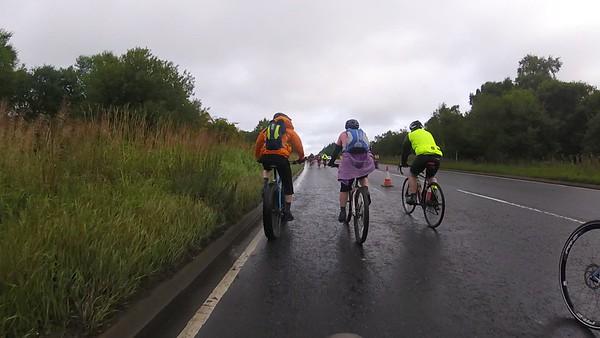 A73 heading towards Cumbernauld
