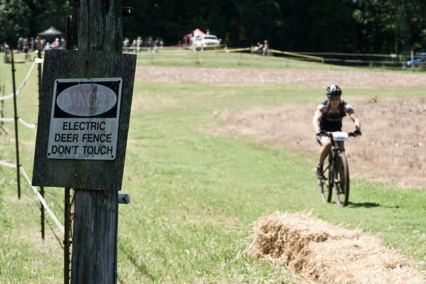 race along the fence