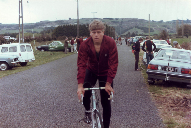 Tony first Bunch Race Win mid 1985 No 1