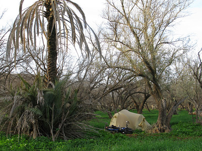 Nice camping spot near Sidi Rahhal.