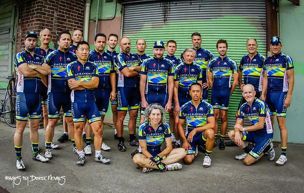 Sacramento Golden Wheelmen Team Shoot