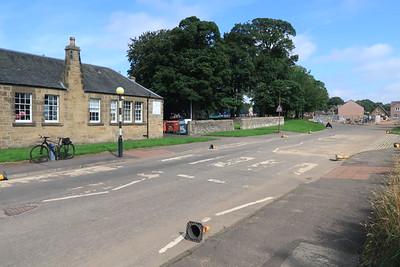 Livingston Village Primary School - Zebra Crossing minus one belisha