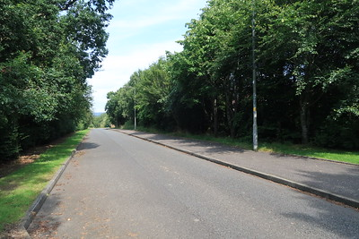 Adambrae Road - shared use footway to east side
