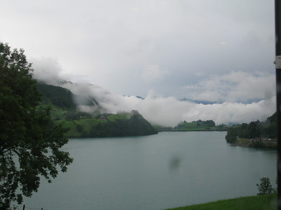 Lungern See (coming from Sarnen in bad weather)
