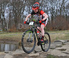 22 March 2015. Cathkin Braes, Glasgow. Action from round one of the Scottish Cross Country Mountain Bike racing series.