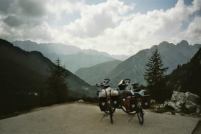 at the Vrsic pass
