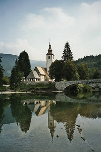Ribcev Laz, near the lake of Bohinj
