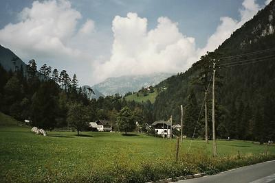 the valley of Logarska Dolina