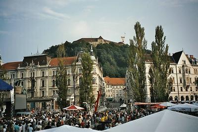 a big happening in Ljubljana