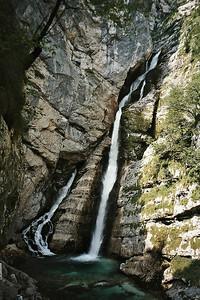 waterfalls at Ukanc: Slap Savica
