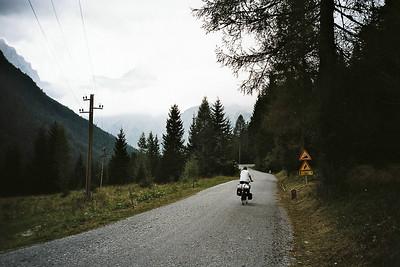 after Kranjska Gora the real climb starts...