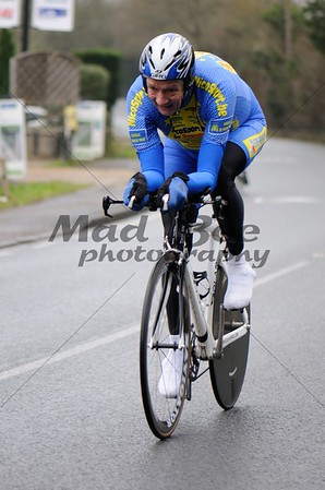 Southborough New Years Day 10mile Time Trial - 1st January 2015