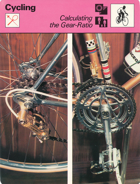 Gear Ratio Front