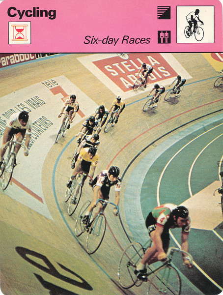 SIx Day Races Front