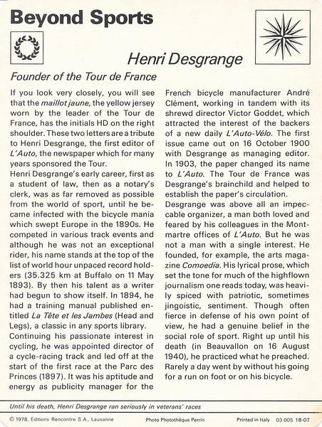 Desgrange Back