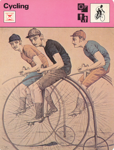 Start of Competitive Cycling Front