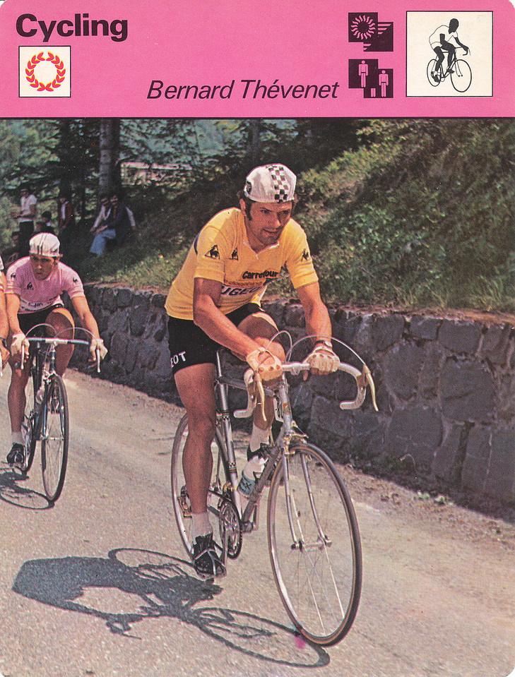 Bernard Thevenet Front