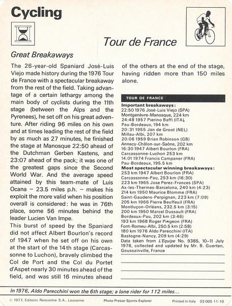 Tour de France Back