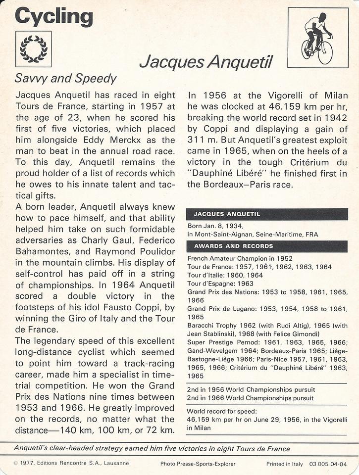 Jacques Anquetil Back