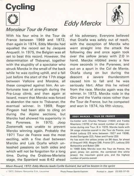 Eddy Merckx 2 Back