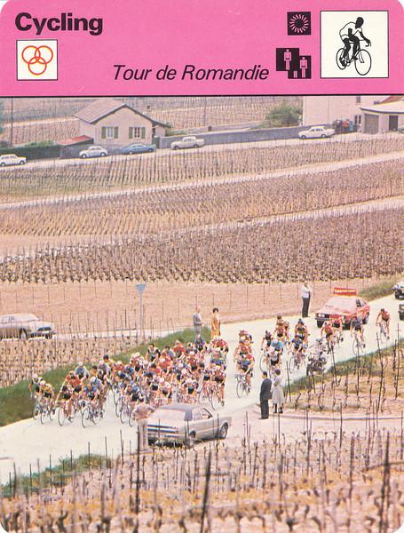 Tour De Romandie Front