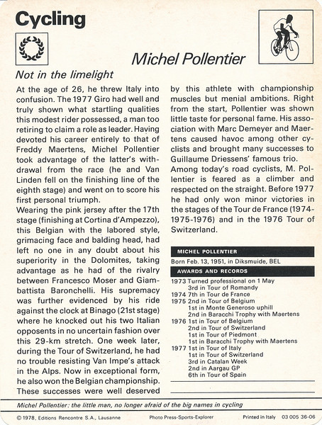 Pollentier Back