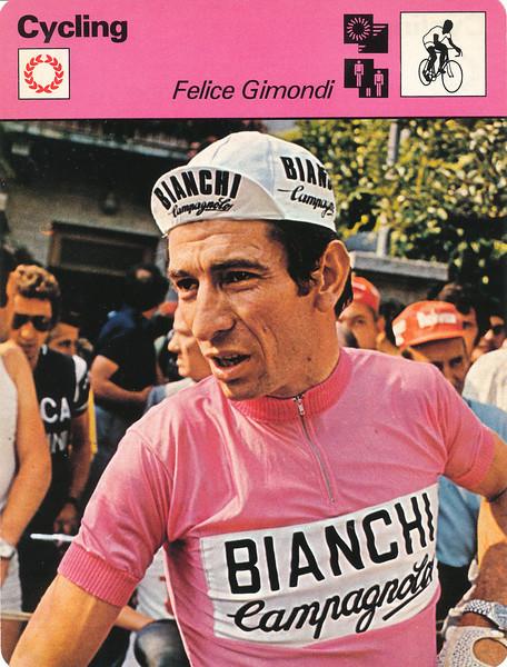 Felice Gimondi Front