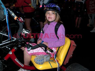 Danielle Enjoyed Sitting on the Big Wheel