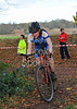 The Ladies and Juniors race at the Cyclocross meeting at Strathclyde Park on 13 November 2011.