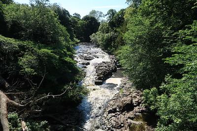 River Almond from Grotto Bridge
