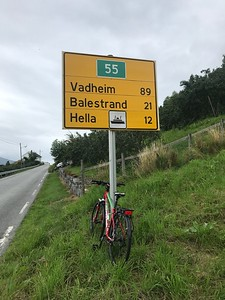 Balestrand bound. As well these are kilometres!