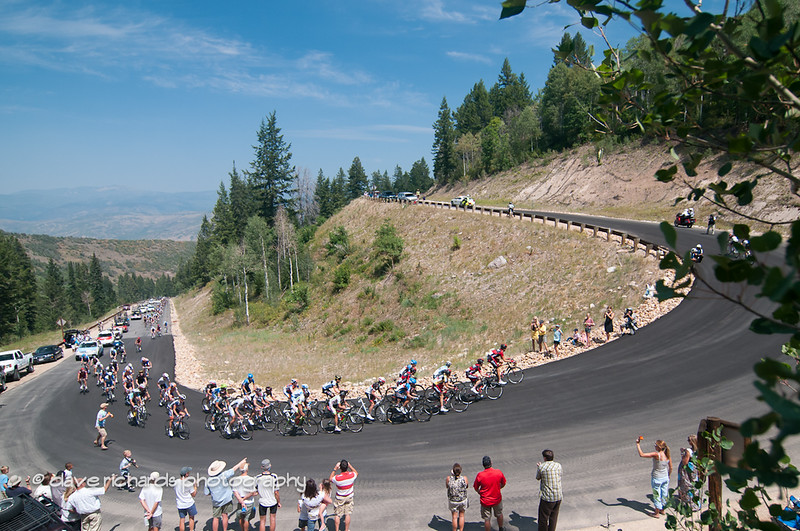 Chase group on the Wolf Creek Ranch climb