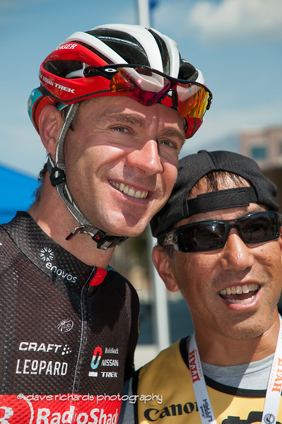 The ever popular Jens Voigt and my fellow photog Alex Kim