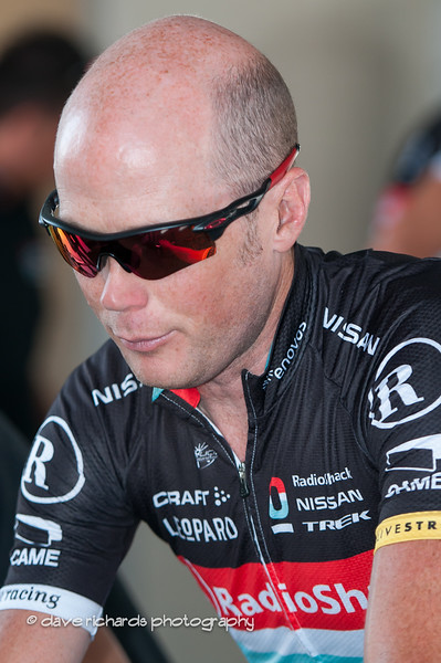 Chris Horner reflecting on the upcoming race