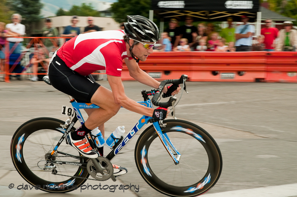 Stage 5 - Salt Lake City Downtown Crit, Dave Z