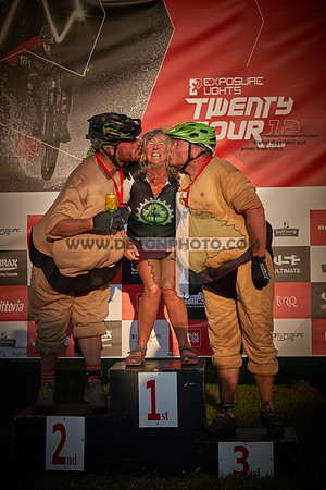 Fat Bike Finish and Podium