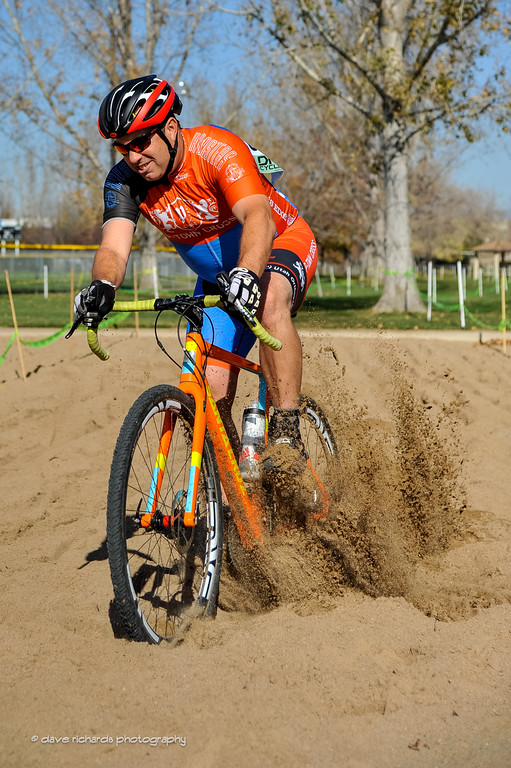 Jonny Soxx in the sandbox,  UTCX race 11-5-16 (Photo: Dave Richards, daverphoto.com)