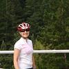 Friend and fellow ALC rider Kit at Alpine Dam.